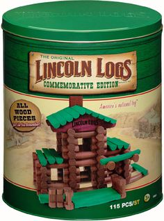 """Vintage Toys I'm probably one of the very few that remembers """"Lincoln Logs."""" - It's a blast from the past featuring Lincoln Logs, Care Bears and more!"""
