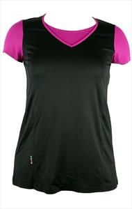 XYLA SPORTS TOP http://www.curvety.com/separates-c7/sportswear-c8/qneel-xyla-sports-top-in-black-pink-p50