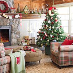 Schone Weihnachten Wohnzimmer