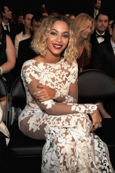 QueenBey at the GRAMMY Awards 2014