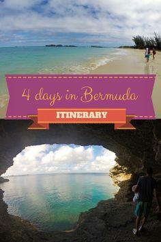 Bermuda 4 Day Itinerary: http://justinpluslauren.com/bermuda-4-day-itinerary/