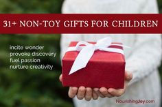 31 non-toxic gift ideas for children