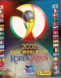 Panini FIFA 2002 Korea Japan Sticker Album 2