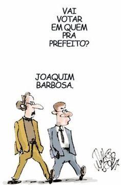 Joaquim Barbosa herói nacional