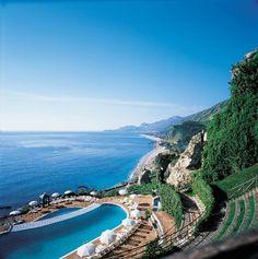 Taormina Beach, Sicily, Italy