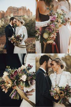 0b944d78897b Bohemian Bridal Party Inspiration. Arizona Weddings ...