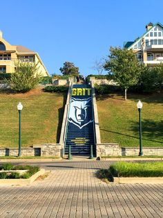 The Memphis Grizzlies Riverfront Fitness Trail adds inspirational messaging on stairs. - Memphis Business Journal