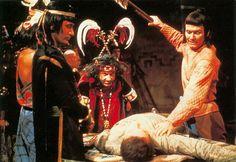 The Aztecs| Ixta (Ian Cullen) prepares to kill Ian | Original photo © Copyright BBC