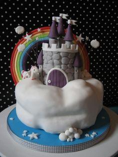 Rainbow Unicorn cake @Cheri Mcilrath Murphy my niece NEEDS this cake!!!!