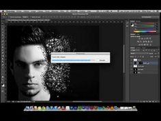 Tutorial Photoshop CS6 - Décomposition d'un visage - YouTube