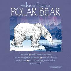 Advice from a Polar Bear