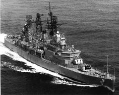 May 25, 1967     The Cruiser USS PROVIDENCE (CLG-6) was hit by an enemy shore battery fired from the DMZ, receiving superficial damage to main mast and no casuaties. Fire was returned and the battery sienced.