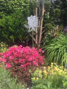 2st. gartenstecker beetstecker edelstahl & edelrost vogel, Garten ideen