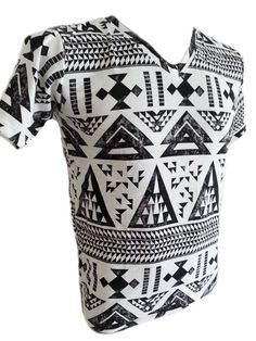 Men TShirt top Navajo Native Aztec ethnic inca by bizbrice on Etsy, $14.99