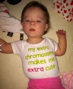 Down Syndrome Awareness Onesie