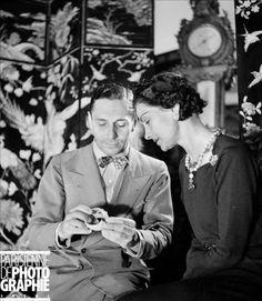 Fulco di Verdura and Gabrielle Coco Chanel