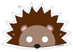 Printable Halloween Masks, Printable Masks, Printables, Mardi Gras, Masque Halloween, Halloween Kostüm, Hedgehog Birthday, Colorful Birthday Party, Animal Masks