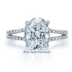 aa- Oval solitaire split shank engagement ring- this is the one