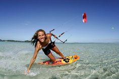 We love kiteboarding