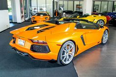 Lamborghini Aventador Roadster Orange _______________________ WWW.PACKAIR.COM