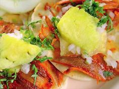 Tacos al Pastor at Los Guachos : This spit-roasted taco at Los Guachos is freshly made by hand every day.