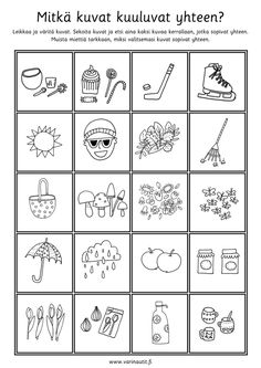 Päättelytehtävät - Värinautit Kids Math Worksheets, Becoming A Teacher, Math For Kids, Kindergarten, How To Become, Playing Cards, Mindfulness, School, Playing Card Games