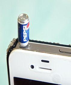 pepsi can phone plug