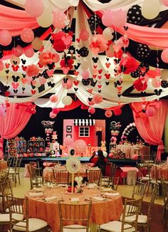 Birthday Party Themes, Birthday Cake, Minnie Mouse Theme Party, Table Decorations, Home Decor, Decoration Home, Room Decor, Birthday Cakes, Home Interior Design