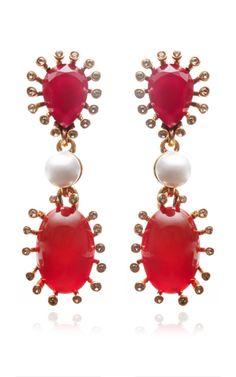 Star Earring by Oscar de la Renta - Moda Operandi