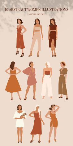 Summer Neutrals is big graphic collection of illustrations and pre-made compositions. I used simple shapes and beautiful earthy colours to create modern minimalistic feel. Use vector or png elements to create your own unique designs. People Illustration, Illustration Sketches, Character Illustration, Illustrations Posters, Animal Illustrations, Fantasy Illustration, Forest Illustration, Design Illustrations, Watercolor Illustration