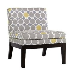 chair for gray and yellow bedroom