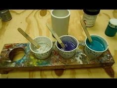 Casting a Large Resin blank - YouTube