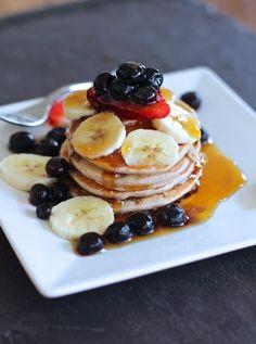 Vegan Banana Buckwheat Pancakes (VEGAN, egg free, dairy free, gelatine free, gluten free) Sign up to Plantified.com to get a FREE VEGAN AQUA FABA MOUSSES RECIPE E-BOOK