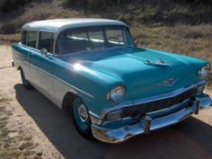 1956 Chevrolet Bel Air 2 Door Wagon. Maintenance/restoration of old/vintage vehicles: the material for new cogs/casters/gears/pads could be cast polyamide which I (Cast polyamide) can produce. My contact: tatjana.alic@windowslive.com