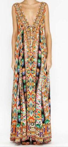 Camilla Franks Jakima deep v dress
