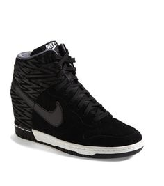 nike dunks wedge sneakers -  high tops and highchairs on redsoledmomma.com