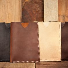 Leather kindle case, I like the brown one
