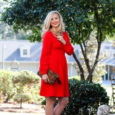 Classic Red Dress for Holiday Gatherings