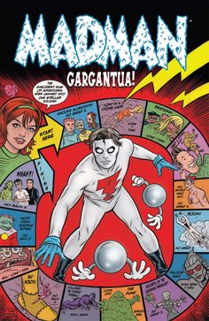 Madman comic by Mike Allred. Gorgeous
