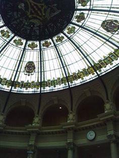 Interior de correos #Valencia #Modernisme principios s. XX