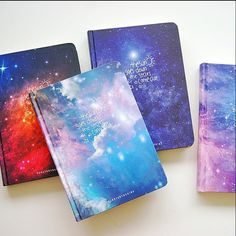 """Combines my 2 favorite things! Space and Planners💙💙🌌⭐⭐""""Stars Come"""" Lined Diary Hard Cover DIY Planner Pocket Journal School Study Notebook Agenda Notepad Memo Gift Diy Notebook Cover, Lined Notebook, Mochila Do Bts, School Diary, Diary Decoration, Diary Covers, Diary Cover Design, Cool Notebooks, Journals"""