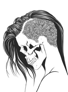 Skull Girls 2 by Gerrel Saunders, via Behance http://www.creativeboysclub.com/ http://www.creativeboysclub.com/wall/creative