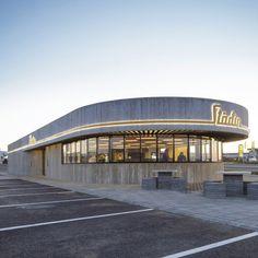 Stodian Roadside Stop by KRADS  Swedish take on the American Diner