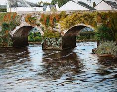 The old bridge Carrick-on-Suir.