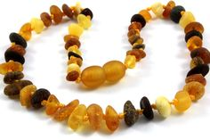 New Baltic Amber Baby Teething Necklace by BalticAmberGiftShop, $10.99