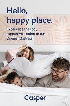So universally comfortable, everyone in the house will want one. The Original Mattress combines 3 zones of support with advanced cooling technology to create a one-of-a-kind feel only Casper can give. Couple Bedroom, Kids Bedroom, Bedroom Decor, Girl Bedroom Designs, Bedroom Styles, Casper Mattress, Grey Bedroom With Pop Of Color, Professional Movers, Golf Humor