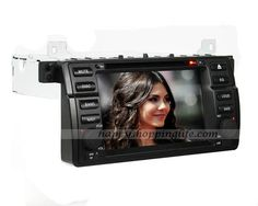 Android 4.0 car DVD player for BMW E46, 1 din auto radio multimedia with 7 inch touch screen, GPS navigation system with dual zone function, WIFI, 3G Internet Access, analog TV tuner built in, RDS, Bluetooth car kit, iPod port, USB, SD, CAN bus to support the original steering wheel controls