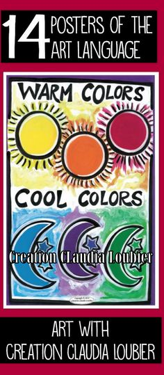 A collection of 14 digital format posters in PDF, illustrating ALL of the ART language in primary school. To help you with your teaching. Posters are homemade and scanned in professional quality. You can print them or put them onto your Interactive Whiteboard. Very colorful. Helps students to understand the concepts of art more easily. By downloading this product, you will receive 2 folders. The posters in 8.5 x 11 and in 11 x 17.