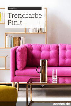 hol dir mit mobeln accessoires die trendfarbe pink nach hause