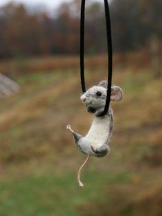 I would probably freak out everytime I looked down and saw this hanging on my neck...